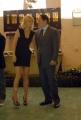 mattoni/markanews 23/04/08  roma presentazione del film _iron man_ nella foto: gwyneth paltrow e jon favreau il regista