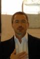 mattoni/markanews 23/04/08  roma presentazione del film _iron man_ nella foto: robert downey jr