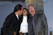 carlo mattoni/markanews 5/03/08 presentazione del programma di rai uno - non esiste più la mezza stagione- con il trio lopez marchesini solenghi