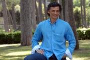 mattoni/markanews roma 7/05/08 presentazione della fiction di canale 5 _mogli a pezzi_ nella foto: enrico lo verso