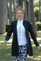 mattoni/markanews roma 7/05/08 presentazione della fiction di canale 5 _mogli a pezzi_ nella foto: valeria milillo