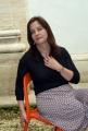 mattoni/markanews 19/05/08 festival delle letterature roma nella foto: helena janeczek scrittrice esordiente