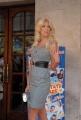 mattoni/markanews 24/06/08 roma presentazione del film _ un'estate al mare_ nella foto:   victoria silvstedt