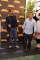 mattoni/markanews 25/06/08 roma presentazione del film _ kung fu panda_ nella foto dustin hoffman fabio volo