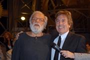 mattoni/markanews 2007 roma  trasmissione tv apocalypse show l'ultima tramissione tv presentata da gianfranco funari nella foto con fabrizio del noce