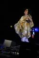 mattoni/markanews 24/07/08 roma concero all'auditorium di  bjork