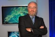 gioia botteghi/markanews 12/09/08 roma presentazione del nuovo studio del tg la7, nella foto  giovanni stella amministratore delegato di telecom italia news