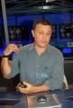 gioia botteghi/markanews 12/09/08 roma presentazione del nuovo studio del tg la7, nella foto antonello piroso
