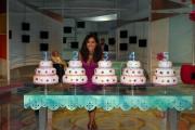gioia botteghi/markanews 13/09/08 roma, caterina balivo nel suo nuovo studio di _festa italiana_ raiuno
