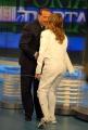 gioia botteghi/markanews 15/09/09 porta a porta con berlusconi e valentina pezzali