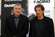 gioia botteghi/markanews 16/09/08 roma presentazione del film _sfida senza regole_nella foto: al pacino, de niro