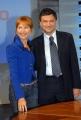 gioia botteghi/markanews roma la 7 lilli gruber presenta la nuova edizione di otto e mezzo in onda da lunedì 22/09 con lei federico guiglia