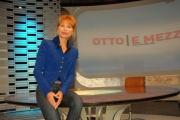 gioia botteghi/markanews roma la 7 lilli gruber presenta la nuova edizione di otto e mezzo in onda da lunedì 22/09