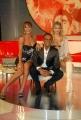gioia botteghi/markanews 19/09/08 roma,  carlo conti nella trasmissione I migliori anni raiuno in onda in diretta ieri sera con sofia bruscoli e roberta giarrusso