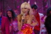 gioia botteghi/markanews 19/09/08 roma, donatella rettore ospite di carlo conti nella trasmissione I migliori anni raiuno in onda in diretta ieri sera