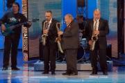 Botteghi/ItalyPhotoPress  20/09/08 registrazione della seconda puntata di Tutti pazzi per la tele, nella foto Maurizio Costanzo