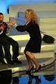 Botteghi/ItalyPhotoPress  27/09/08 registrazione della terza puntata di Tutti pazzi per la tele, nella foto Antonella Clerici