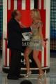 Botteghi/ItalyPhotoPress  27/09/08 registrazione della terza puntata di Tutti pazzi per la tele, nella foto Mike Bongiorno ed Antonella Elia