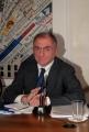mattoni/markanews 1/10/08 roma conferenza stampa di presentazione de _la bibbia giorno e notte_ nella foto l'ideatore giuseppe de carli
