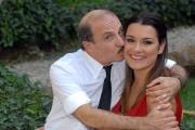 IPP/Botteghi 10/10/08 presentazione della Fiction _ VIP_ in onda su canale 5 il 14 ottobre nella foto Alena Seredova con Carlo Buccirosso