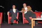 mattoni/markanews 12/06/08 roma conferenza stampa della festa del cinema di roma e presentazione del nuovo direttore artistico gian luigi rondi,nella foto il direttore uscente goffredo bettini