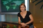 IPP/Botteghi 16/10/08 presentazione della nuova scenografia del tg3 nella foto: Bianca Berlinguer