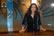 IPP/Botteghi 16/10/08 presentazione della nuova scenografia del tg3 nella foto: Maria Cuffaro