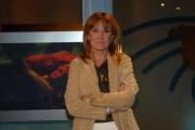 IPP/Botteghi 16/10/08 presentazione della nuova scenografia del tg3 nella foto: Roberta Serdoz