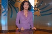 IPP/Botteghi 16/10/08 presentazione della nuova scenografia del tg3 nella foto: Maria Rosaria De Medici