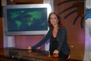 IPP/Botteghi 16/10/08 presentazione della nuova scenografia del tg3 nella foto:   Lucia Goraci