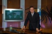 IPP/Botteghi 16/10/08 presentazione della nuova scenografia del tg3 nella foto: Antonio Di Bella Direttore