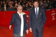 matoni/markanews 22/10/08 festa del cinema di roma, nella foto: luca barbareschi ed il presidente della festa del cinema