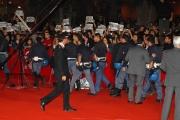 mattoni/markanews 22/10/08 prima passerella della festa del cinema di roma, nella foto:  nei tafferugli che si sono venuti a creare dai ragazzi dei centri sociali che alemanno ha dichiarato di voler chiudere a roma