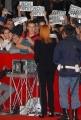 mattoni/markanews 22/10/08 prima passerella della festa del cinema di roma, nella foto: simona ventura nei tafferugli che si sono venuti a creare dai ragazzi dei centri sociali che alemanno ha dichiarato di voler chiudere a roma