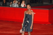 red carpet giovani talenti italiani e francesi, fatou n'diaye, roma festa del cinema 27/10/08 photo : mattoni/markanews