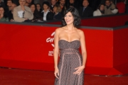 red carpet giovani talenti italiani e francesi, giulia bevilacqua,  anna galiena, roma festa del cinema 27/10/08 photo : mattoni/markanews