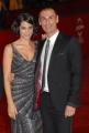red carpet del film  galantuomini, donatella finocchiaro e fabrizio gifuni,  roma festa del cinema 27/10/08 photo : mattoni/markanews