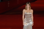 red carpet del film , easy virtue, con jessica biel , roma festa del cinema 26/10/08 photo : mattoni/markanews