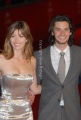 red carpet del film , easy virtue, con jessica biel e ben barnes, roma festa del cinema 26/10/08 photo : mattoni/markanews