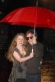 michael cimino e la sua amica calantha mansfield, roma festa del cinema 28/10/08 photo : mattoni/markanews