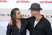 pride and glory, colin farrel, il regista gavin o'connor, roma 28/10/08, festa del cinema di roma, photo : mattoni/markanews