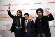 el artista,  marcello prayer,sergio pangaro, il regista mariano cohn  roma 28/10/08, festa del cinema di roma, photo : mattoni/markanews