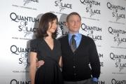 mattoni/markanews 5/11/08 presentazione del film _quantum of solace_ nella foto : olga kurylenko e daniel graig