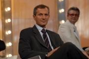 Ipp/Botteghi/ 18/11/08 puntata del Costanzo Show, ospiti, Ginrico Carofiglio