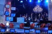 Foto IPP/Gioia Botteghi  Roma 1/12/09  ultima puntata del maurizio Costanzo show dopo 25 anni.saluto del maestro Demo Morselli