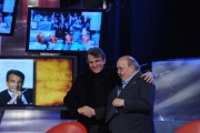 Foto IPP/Gioia Botteghi  Roma 1/12/09  ultima puntata del maurizio Costanzo show dopo 25 anni. Ospiti RAFFAELE MORELLI
