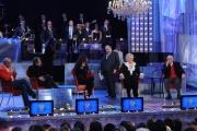 Foto IPP/Gioia Botteghi  Roma 1/12/09  ultima puntata del maurizio Costanzo show dopo 25 anni. Ospiti ANDREA CAMILLERI ,AFEF,KATIA RICCIARELLI,RAFFAELE MORELLI, ALFONSO SIGNORINI