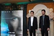 IPP/Botteghi 1/12/08 Roma presentazione del film ULTIMATUM ALLA TERRA nella foto: il regista Scott Derrickson e Keanu Reeves