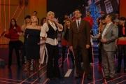 IPP/Botteghi 12/12/08 Roma trasmissione tv per telethon ospite  Milly Carlucci Fabrizio Frizzi, Paolo Belli,  Arianna Ciampoli