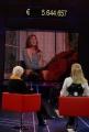 IPP/Botteghi 12/12/08 Roma trasmissione tv per telethon ospite  Milly Carlucci con Susanna Agnelli in collegamento con Carla Bruni